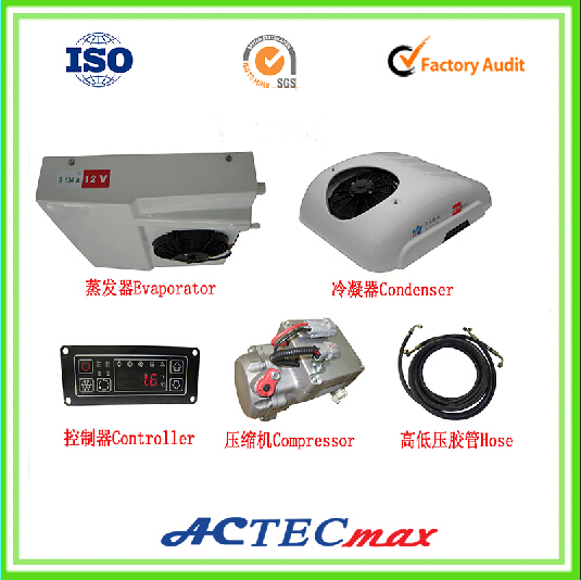 Roof Top Mounted Cooling Cargo Truck Refrigeration Cooling Units