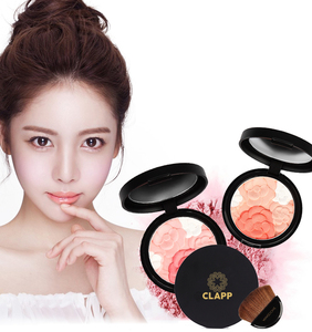 Muti Color Modified Makeup Blush Face Makeup Cosmetics Natural Plant Extract UV Protect Cheek Color Blusher Palette