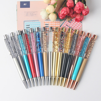 Promotional custom logo with bling bling pen Japan hot selling DIY crystal pen