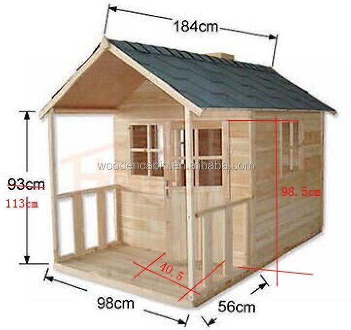 material de patio al aire libre de juegos para nios de madera casas de madera