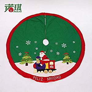 2015-New2016 Hot Christmas decoration supply, Christmas high quality 120cm tree skirt ornaments, tree skit xmas, new year decoration