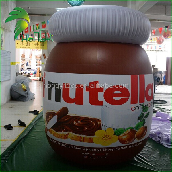 Customized Inflatable Chocolate Sauce Bottle Model For Promotion
