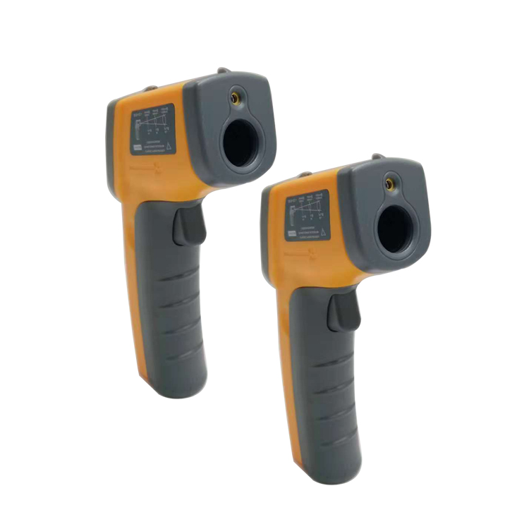 Mini type GS320 digital IR temperature gun handheld thermometer or digital infrared thermometer with laser sight - KingCare | KingCare.net