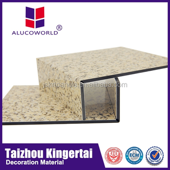 Alucoworld Sound Proof Fireproof Wall Board Boat Interior Wall Material Knauf Aluminium