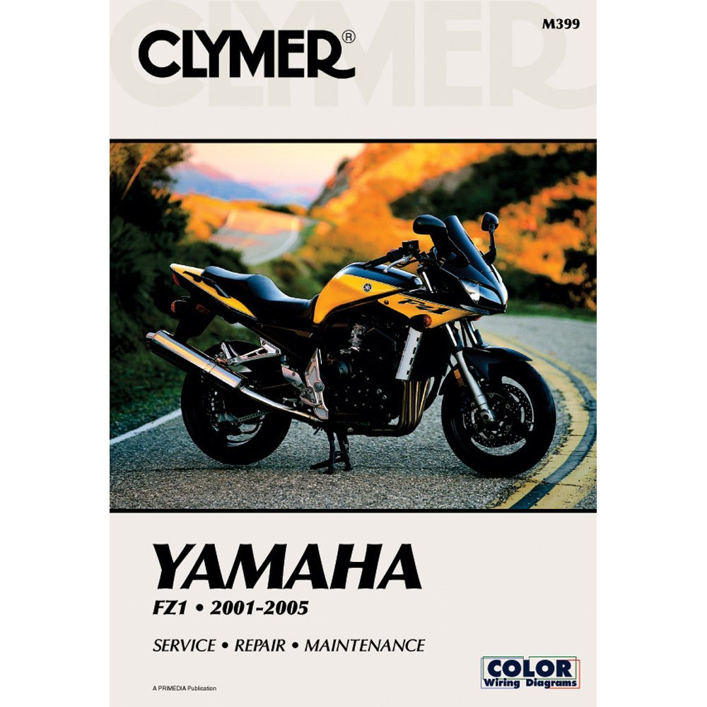 Get Quotations · 2001-2005 CLYMER YAMAHA MOTORCYCLE FZ 1 SERVICE MANUAL NEW  M399