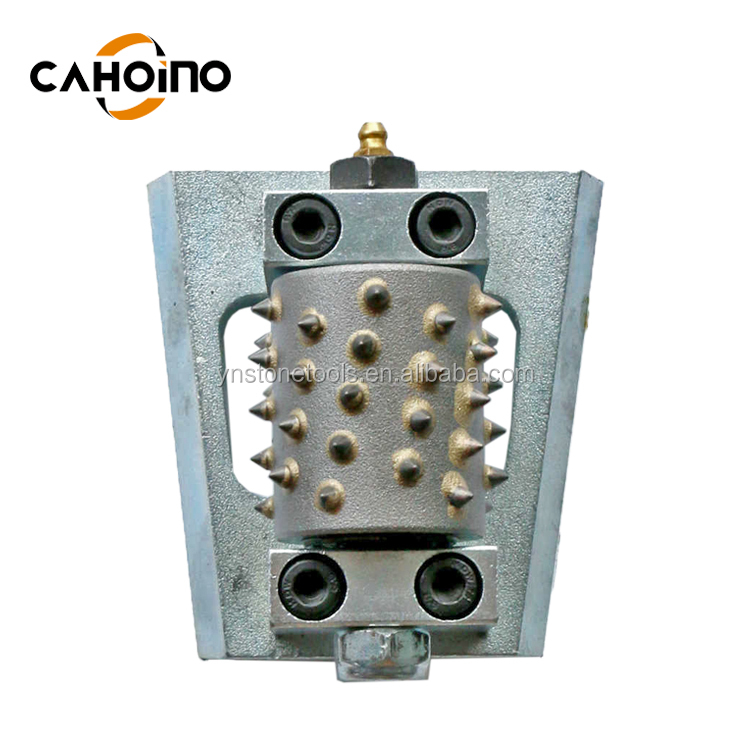 Double Layer Tungsten Carbide  Bush Hammer Tool For Concrete And Stone
