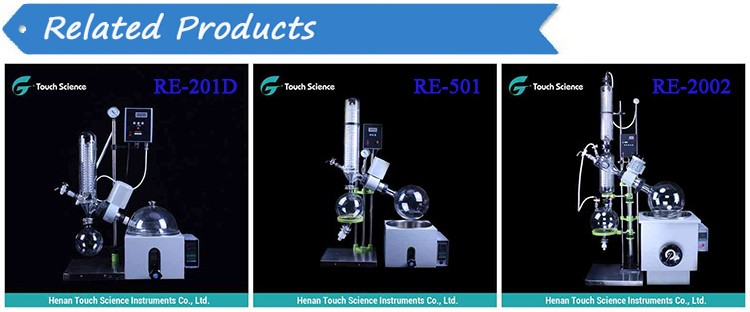 2L Lab Extraction Rotary Evaporator with Chiller and Vacuum Pump