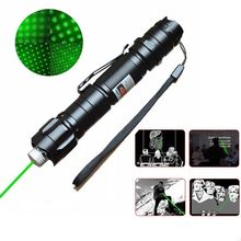 2015 Hot Sell Green Laser Pointer Power Saving 8000 Meters Laser Pen Laser Verde Jogo De Luz + Protect Star Pattern Converter
