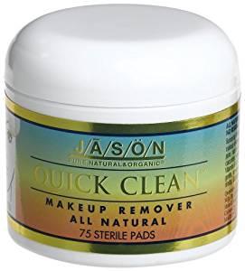 Quick Clean Makeup Remover Pads Jason Natural Cosmetics 75 Pad