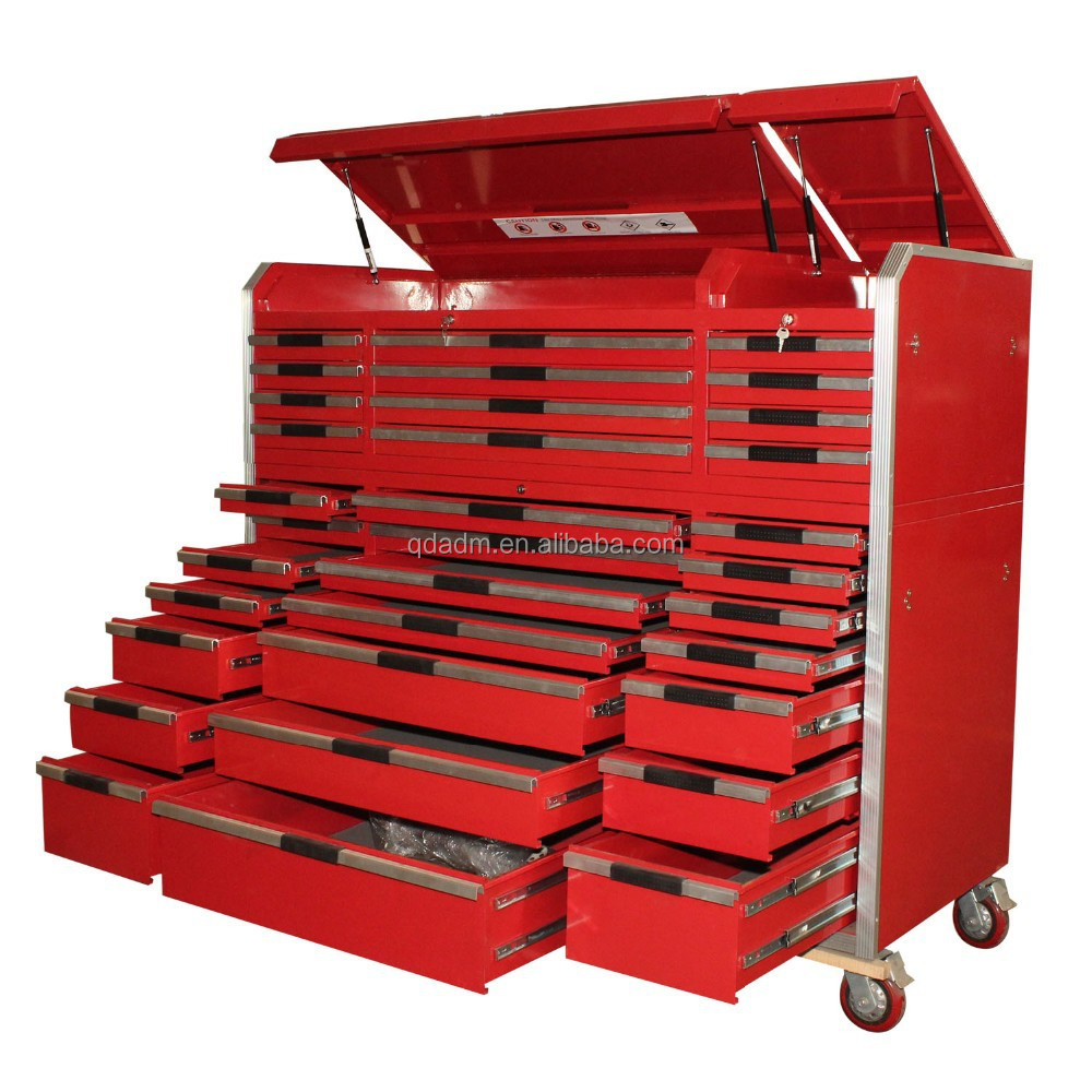 Superieur Heavy Duty Metal Tool Chest On Wheels With Aluminum Handle   Buy Tool Chest, Tool Work Bench,Tool Cabinets Product On Alibaba.com