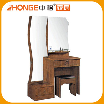 China Factory High Quality Dressing Table With Full Length Mirrors