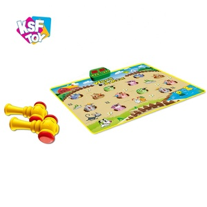 baby toys whack a mole with 5 functions to choose from