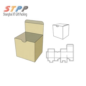 Wig folding box wholesale small packaging templates