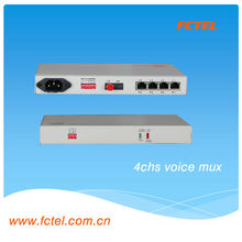 4 channel phone interface optical audio transmitter and receiver