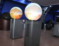 2016 Hard Seamless Spherical Screen and Spherical Projector, 360 Degree To Watch At