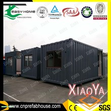 deep gray 20ft shipping container house