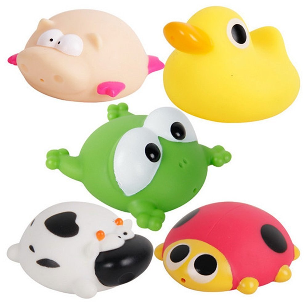 Charmant Get Quotations · Bath Toys Funny Winding Baby Bath Swimming Bathroom Baby  Toys For Children Water Spray Animal Soft