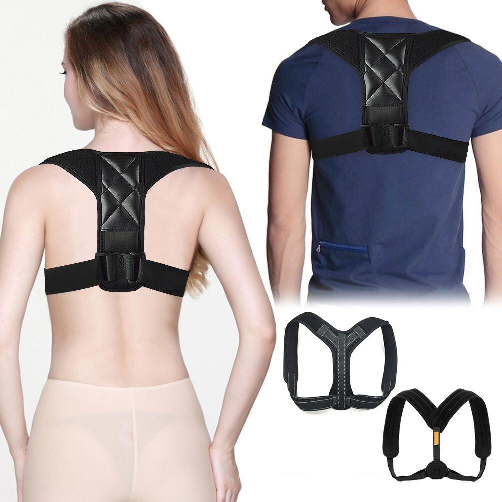 Posture Corrector Shoulder Neck Slouching Corrector Clavicle Strap Support Posture Brace Improve Shoulder Alignment Bad Posture Upper Back Pain Relief Universal Adjustable