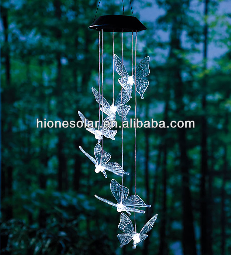 Garden Decor.solar Powered Crystal Flying Butterfly Hanging Light   Buy  Solar Flying Butterfly Hanging Light,Solar Powered Flying Butterfly Hanging  Light ...