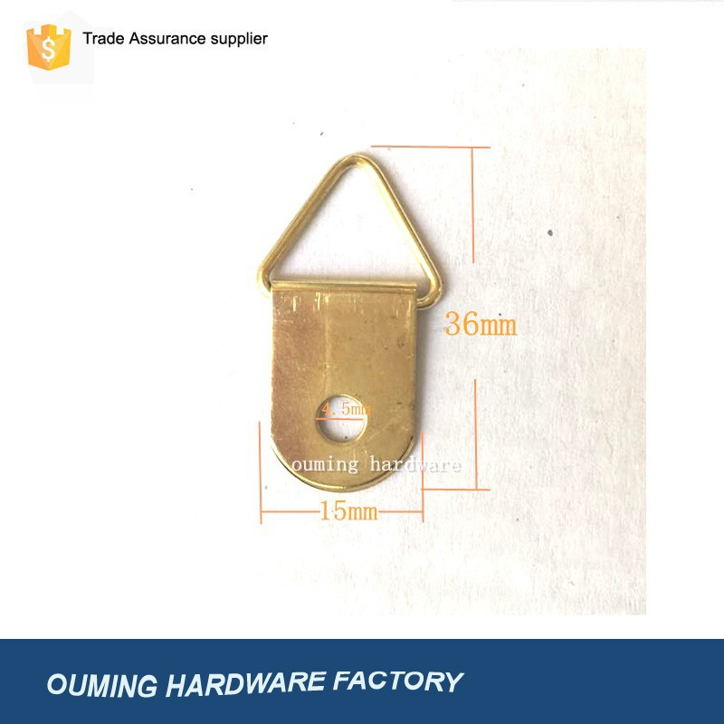 Brass Plated Picture Frame Hanger/picture Frame Hanger/picture Frame ...
