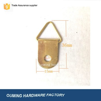 Br Plated Picture Frame Hanger Wall Hangers