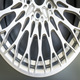 "17'' 18"" 19"" and 20"" double 5-spoke forged aluminum alloy wheel"