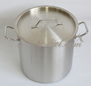 Homebrew Craft Beer / Wine Making Brewing Fermentation Food Grade Strong Stainless Steel Kettle Pot 20/32/40/60/80/100 Quart