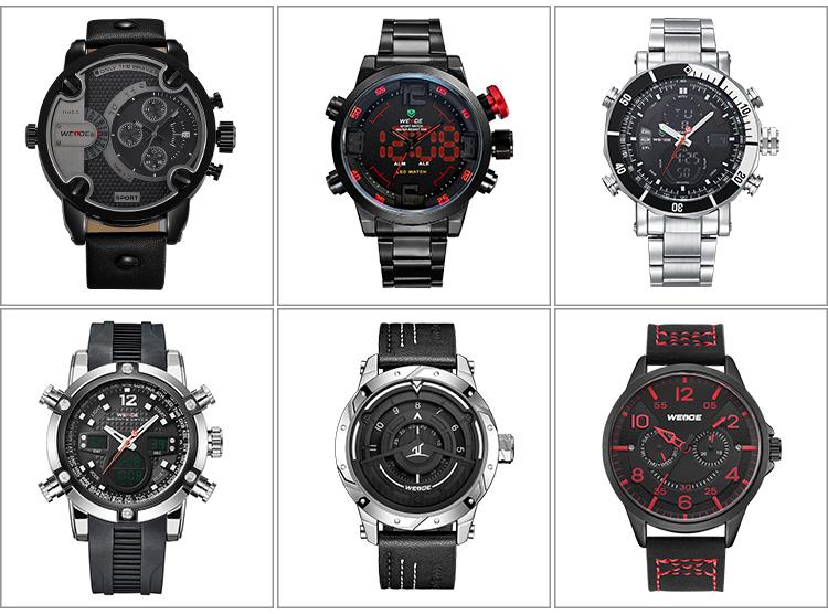 ขายส่งกีฬานาฬิกานาฬิกาจับเวลาวันที่วันทหารนาฬิกาดิจิตอลปลุกโซนเวลาแบบDualนาฬิกาข้อมือสำหรับผู้ชาย