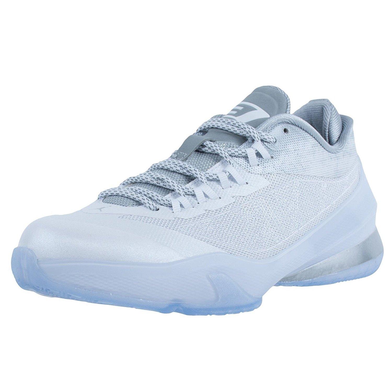 d9b87d2f659bca Get Quotations · Jordan Kids Nike CP3. VIII (BG) Basketball  Shoes-White Pure Platinum