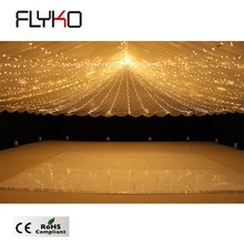 Flyko professionelle led hochzeit party-event 60*60 cm <span class=keywords><strong>wireless</strong></span> RGB LED sternentanzfläche