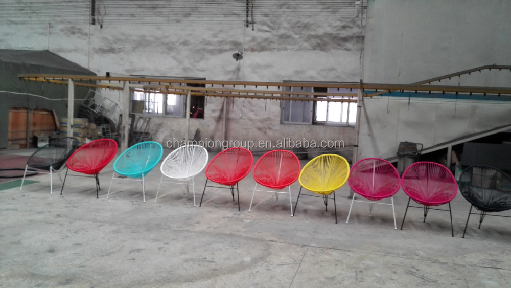 WR-3650 french acapulco cane chairs / round rattan acapulco chairs