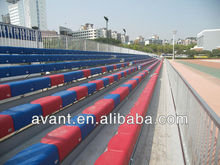 fixed colorful simple mounted stadium seat,bucket seating,stadium seating for sport ball games,education,amusement