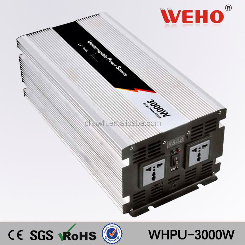 Low Frequency pure sine wave 24v 220v 3000w inverters with charger