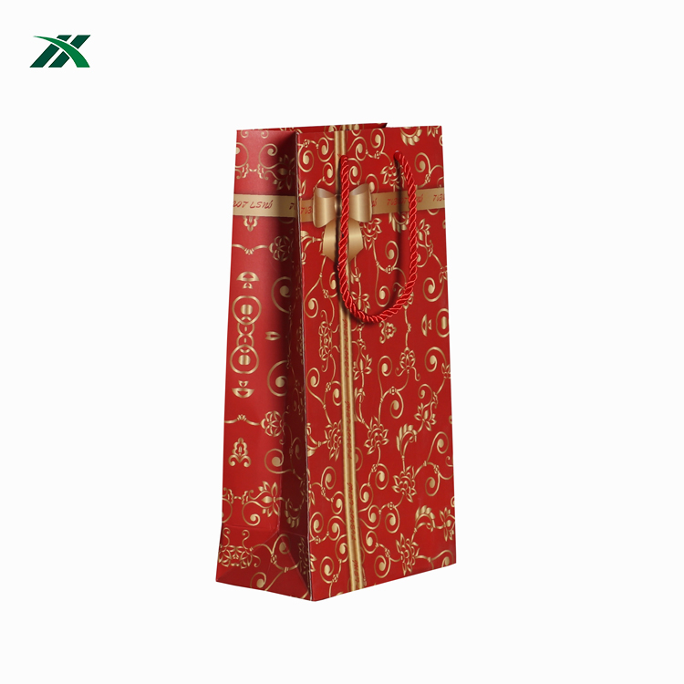 China Logo Design Printed Wedding Luxury Paper Gift Bags