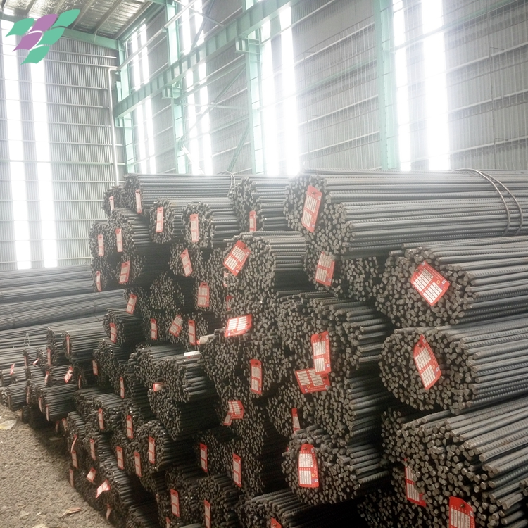 Hot rolled ribbed high quality reinforcing steel bar price