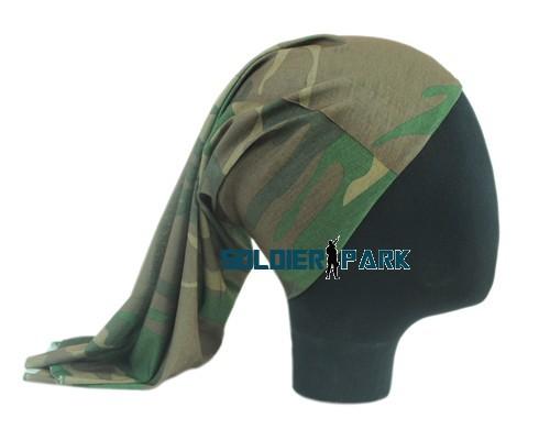 Многофункциональный военная тактическая полиэстер эластичный мягкий легкие Harf лицо MaskScarf Neckrchief повязка на голову лесной *