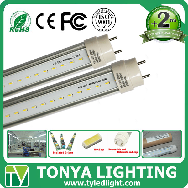 Energy Saving 3 years warranty PF>0.95 CRI>84 Guangzhou 2014 600mm t8 9w led rad tube