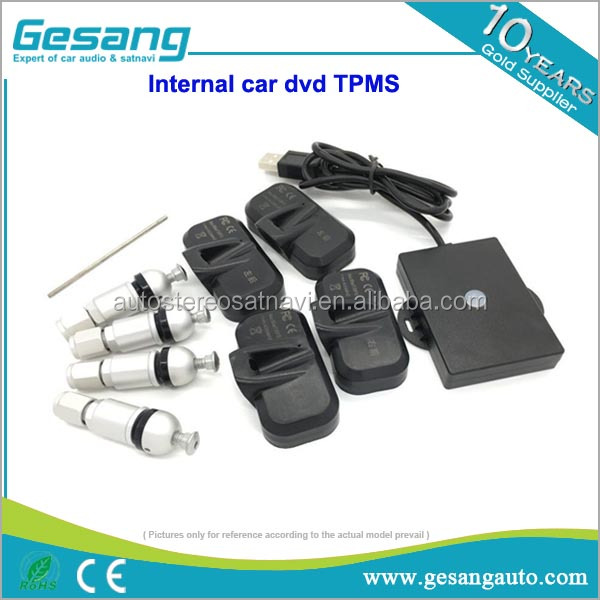 Car internal universal Tire Pressure Monitor System TPMS for Android car dvd