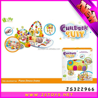 wholesale softtextile piano baby play mat with remote control for promotion