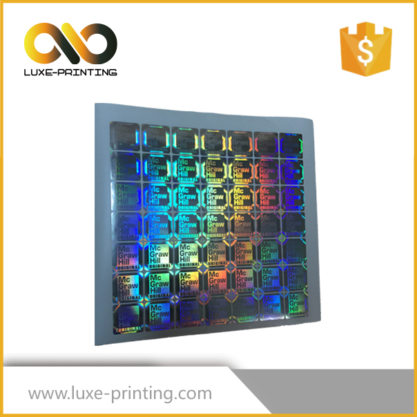 Customized security label and hologram sticker manufacturer