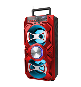 Boombox Home Theater Speaker Box with Karaoke for Outdoor
