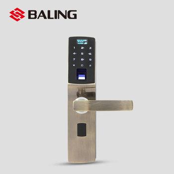 Baling Biometric Fingerprint Door Lock With Zigbee Mobile Control ...