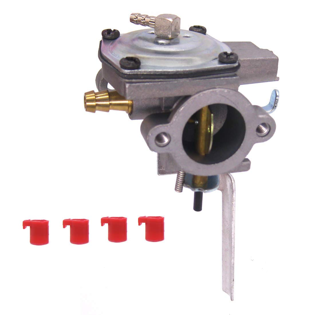 Get Quotations · Atoparts 640290 Carburetor Carb for Tecumseh AV520 TV085XA  2-Cycle Vertical Engine Motor Replaces 640263