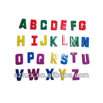 Kids Room Learning ABC Mold English Letters Mold Plasticine 26 Letters High  Quality