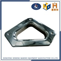 China galvanized stainless steel boat anchor hawse with cleat