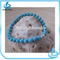 New good quality turquoise beaded bracelets fashion jewelry