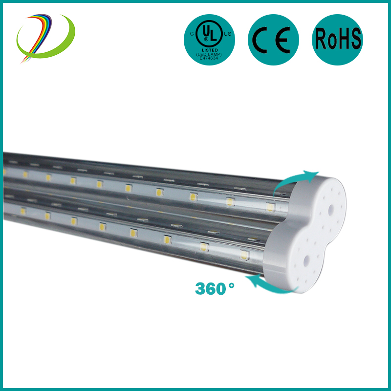 LED tubular lamps transparent frosted cover 23W LED 2G11 tube Light with 5 year warranty