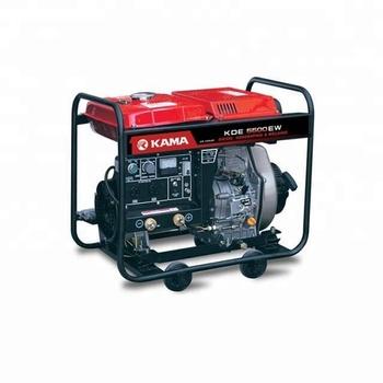 160a Kde5500ew Chinese Portable Diesel Welder Generator For Sale - Buy  Portable Welder Generator,Generator Welder,Diesel Welder Generator Product  on