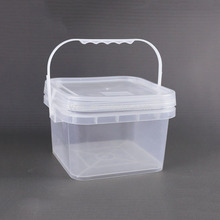 3L Vierkante plastic <span class=keywords><strong>emmer</strong></span> pack