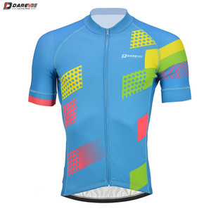 2018 Latest Design Short Sleeves Casual Custom Retro Cycling Club Jersey Back Pocket